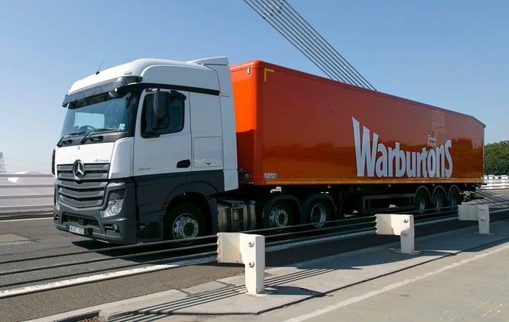 Warburtons train LGV drivers through TRS Training's LGV apprenticeship programme